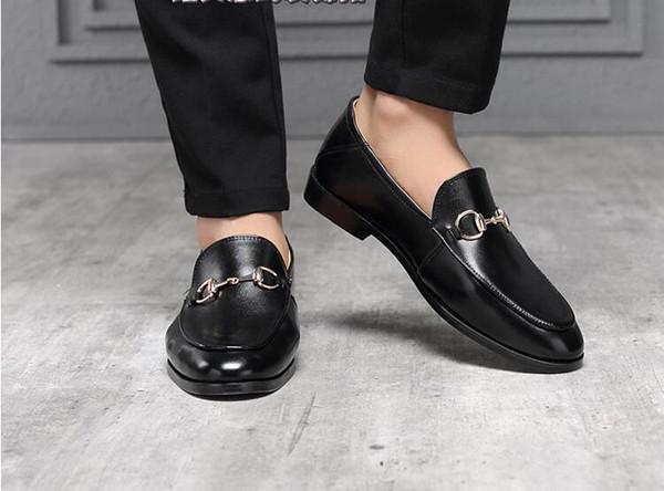 Gli uomini di marca in pelle di mucca allacciatura scarpa abito Vintage Carving Barocco formale vestito scarpa Affari Office Shoe tacco basso slip-on Wedding Oxfords H47