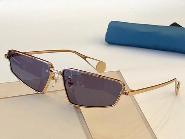 Оптово-0537S Дизайнерские солнцезащитные очки для женщин Мода Wrap Sunglass Pilot Рамка Покрытие Зеркальный объектив Углеродного волокна Ноги Летний стиль 0537