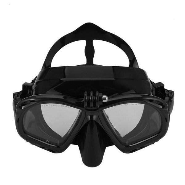 Profesyonel Sualtı Kamera Dalış Maskesi Tüplü Şnorkel Yüzme Gözlüğü Yüksek Performans Çoğu Spor Kameraları Için Uygun