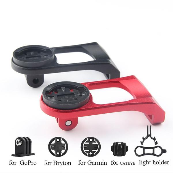 Supporto per videocamera per computer da bicicletta Supporto anteriore per bici da ciclismo Accessori per cronometro per iGPSPORT Garmin Bryton GoPro # 688828
