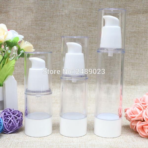15 мл 30 мл 50 мл корейский стиль клюв головы белые безвоздушные бутылки лосьон маленькая пустая бутылка косметический контейнер 100 шт. / Лот