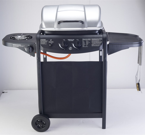 High qulaity outdoor gas bbq grill,side burner ,unfold side,export products , just only a few pcs in stock,gardon BBQ grills