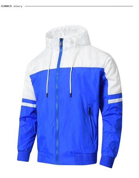 Tasarımcı Spor kapşonlu hırka Marka Moda Günlük Kadın Erkek Ceket Ücretsiz Kargo L-4XL Asya Boyut Sıcak Satış Yüksek Kalite Erkekler Ceket B104748Y