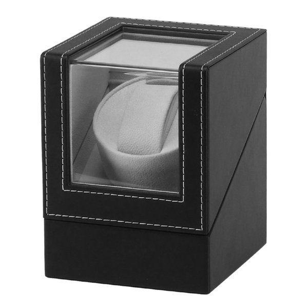 Advanced Motor Vibrating Screen Watch Winder Stand Display Automatic Mechanical Watch Winding Box Jewelry Box