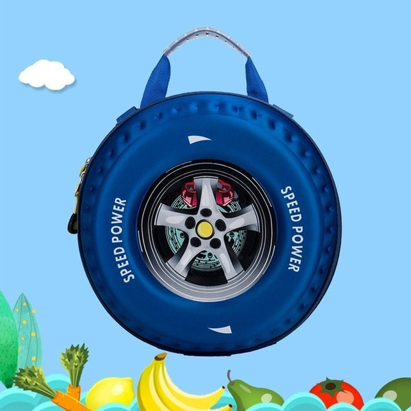 3D Car children school bags for kids lovely Toddler backpacks kids backpack boys