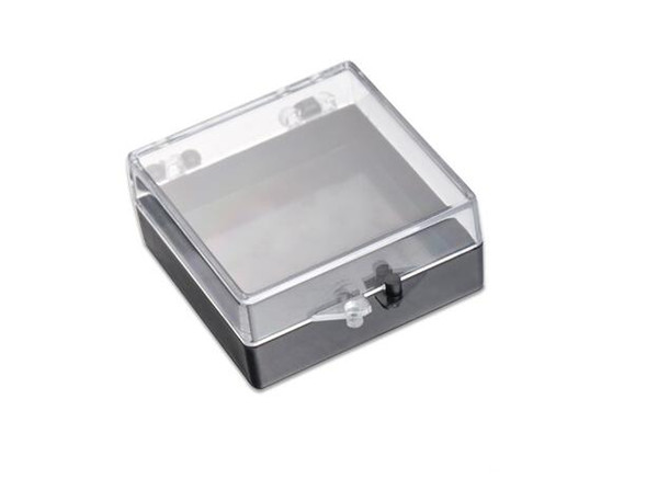300pcs/lot Acrylic Jewelry Box 42x42x20mm Transparent Badge Commemorative Coins Packaging Storage Case Collections Holder