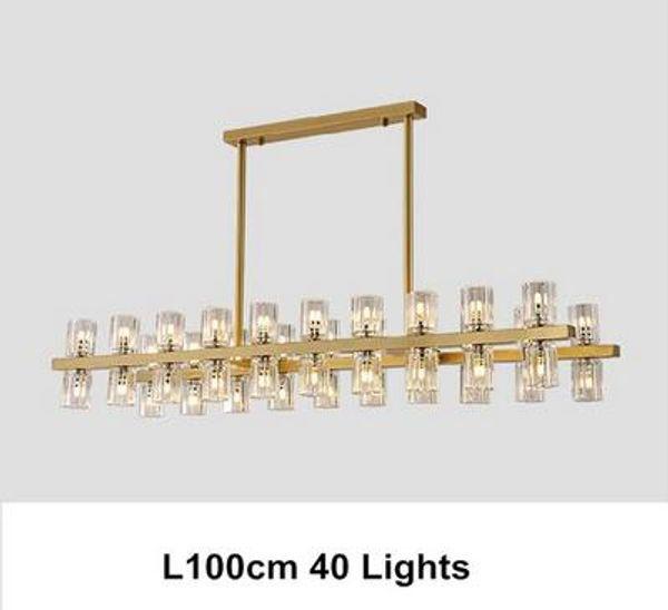 L100cm 40 lights