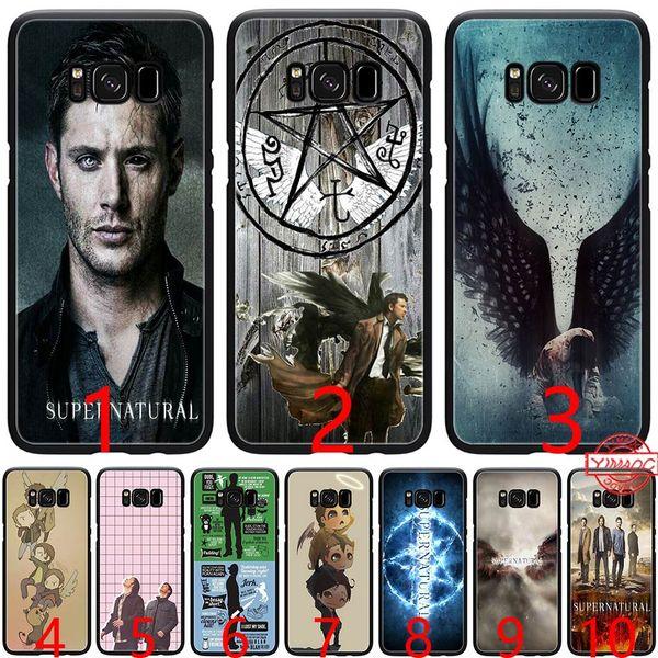 A Very Supernatural Christma Soft Silicone Black TPU Phone Case for Samsung A3 A5 2016 2017 A6 Plus 2018 Cover