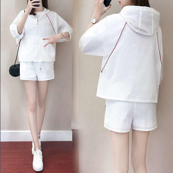 2019 Sexy Blanc Stripe Crop Tops Avec Mini Jupe 2 Pcs Ensembles Femmes Robe Moulante Plus La Taille 3XL Club Party Dress