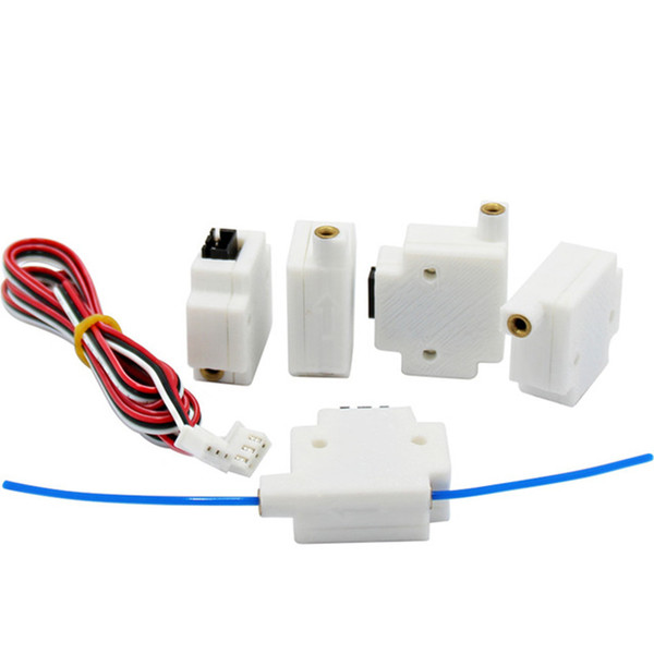 10PCS Material Detection Module with 3pin Dupont Cable For 1.75mm Filament 3D Printers Parts Detecting Model Monitor Sensor White Black Part