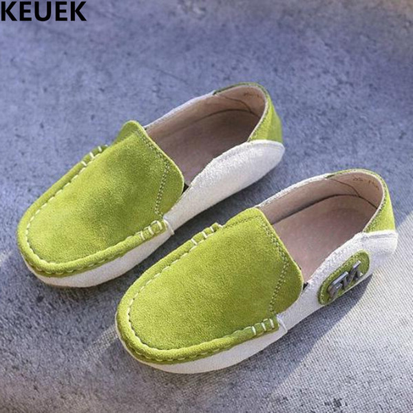 New Children Shoes Cowhide Breathable Baby Toddler Genuine Leather Shoes Boys Student Casual Loafers Flats Kids 03
