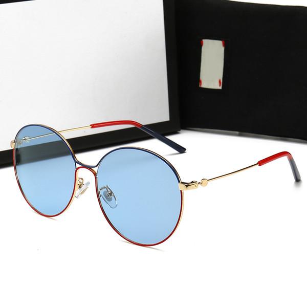 2019 conception de la marque Lunettes de soleil femmes hommes designer Marque de bonne qualité métal mode des lunettes de soleil surdimensionnées millésime masculin féminin UV400