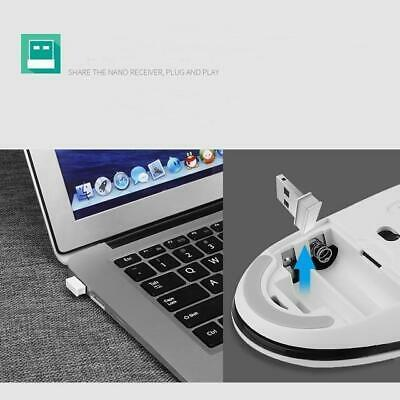 Wireless Portable Laptop Mouse and Keyboard Able For Combo Metal 2019 Original