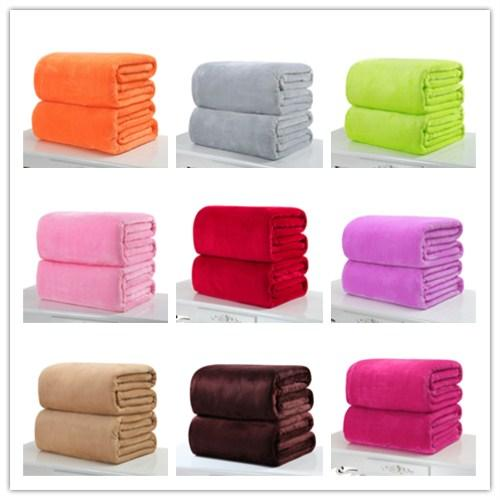 Small olid warm micro plu h fleece blanket throw rug warm for ofa bedding office leep fleece blanket pet drop hip