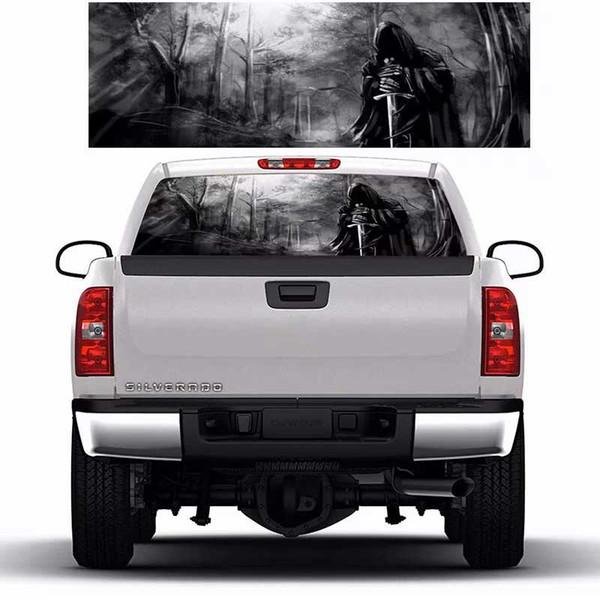 Death Horror Dark Forest Window Graphic Tint Decal Sticker Truck for Car SUV