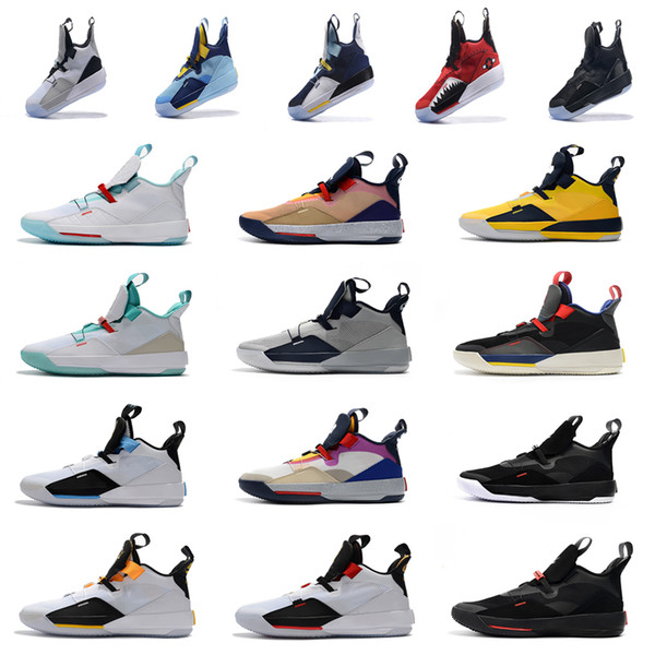 b230a9cfbcf 2019 Retro 33 XXXIII Basketball Shoes Jumpman 33 Athletic Shoes Luxury  Designer Visible Utility Mens 33s Sports Sneakers Shopping Online