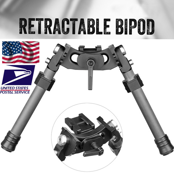 top popular FIRE WOLF NEW LRA Light Tactical Bipod Long Riflescope Bipod For Hunting Rifle Scope Free Shipping 2020