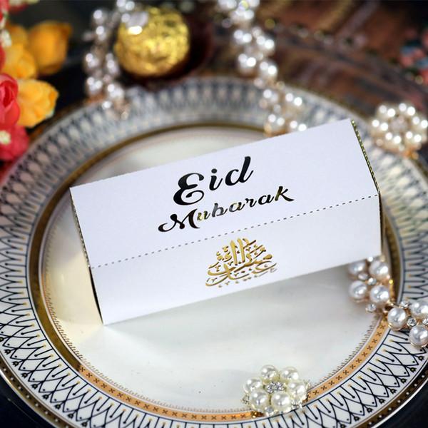Weiß Eid Rechteck 12X4X4CM 20pcs