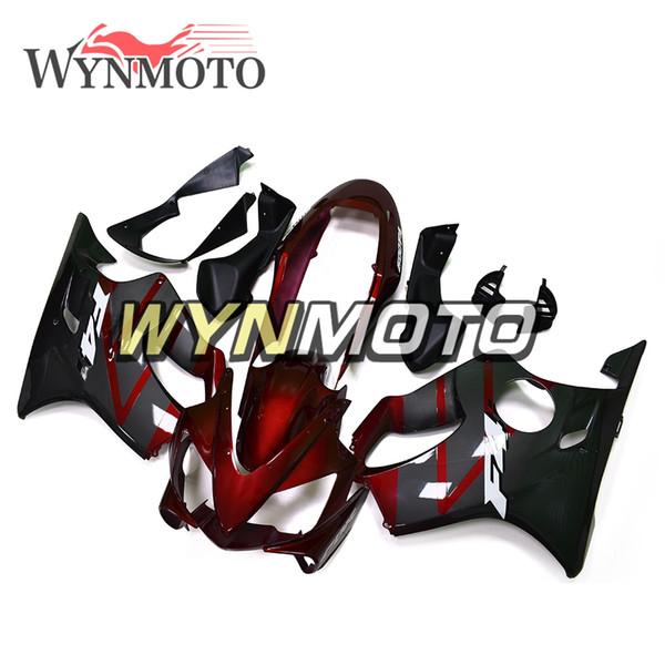Dark Red Black Full Fairing Kit For Honda CBR600F4i 2004 2005 2006 2007 CBR600 F4i 05 06 07 Injection ABS Plastic Motorcycle Body Kit Covers
