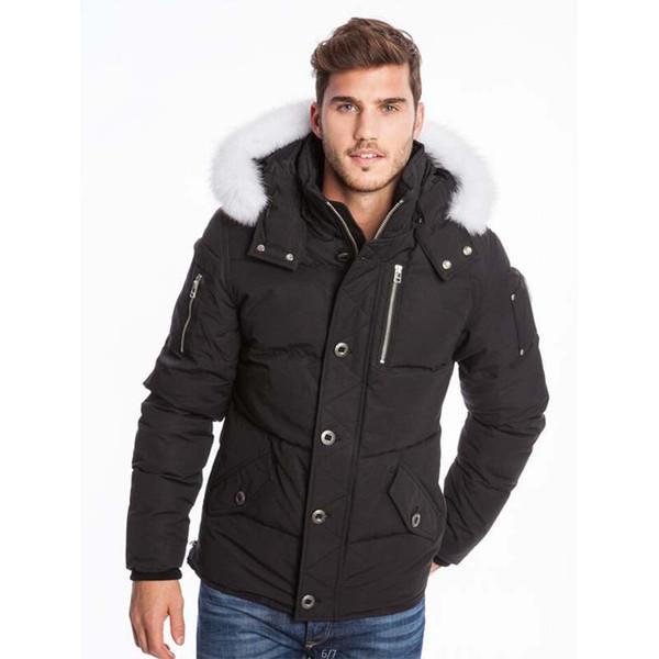 TOP DHL Veste d'hiver vers le bas Parka veste design Homme Big-vêtement en fourrure à capuchon Fourrure Manteau Canada Down Jacket Manteau Doudoune