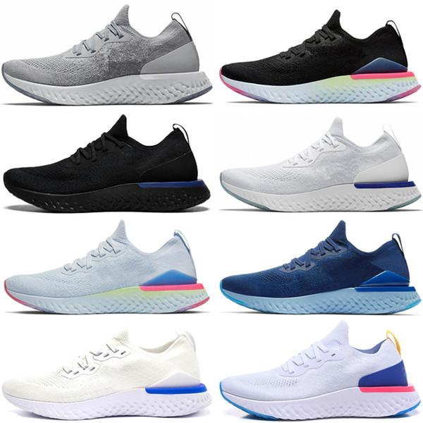 Nike Epic React Flykni Reagieren Element 87 Laufschuhe für Männer Frauen weiß schwarz NEPTUNE grün blau Herren Trainer Designer atmungsaktive Sportturnschuhgröße 36-45 SP