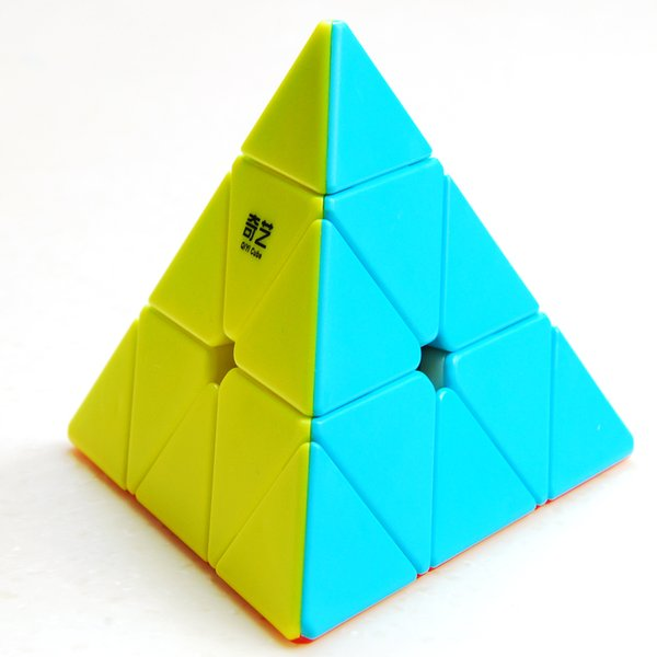 QIYI Hot Pyramid Cube Cool Magico Speed Toy Cubes Educational For Colorful Cubo Puzzle Neo For Children Adult