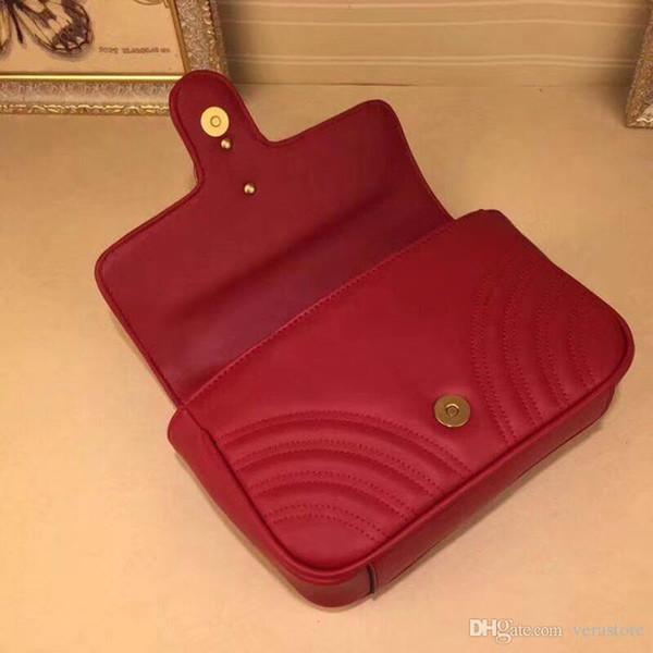 VeraStore 22 cm cuero genuino bolsos de lujo de las mujeres bolsos de cintura diseñador bolso de hombro de alta calidad de mujeres marcas famosas mujer