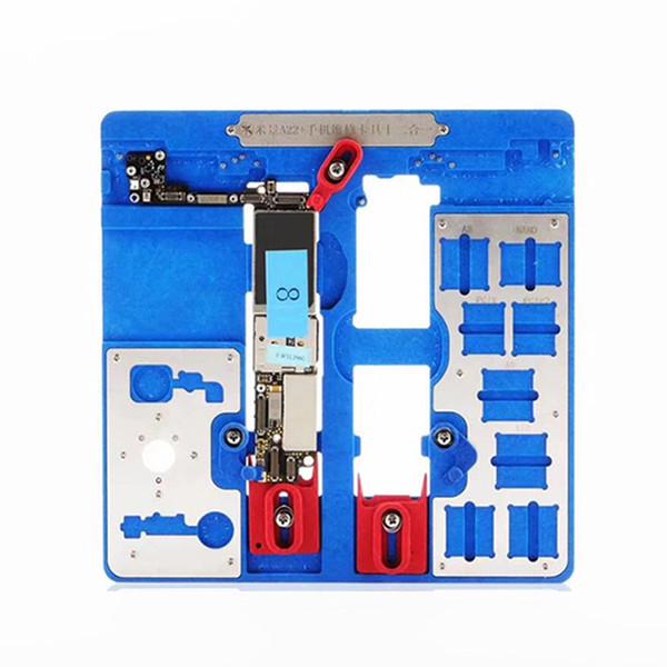 MJ A21 + A22 + A23 + PCB Holder riparazione della scheda madre di fissaggio per 5S / 6 / 6S / 6SP / 7 / 7P / 8 / 8P / XR NAND PCIE scheda logica Chip Fixture