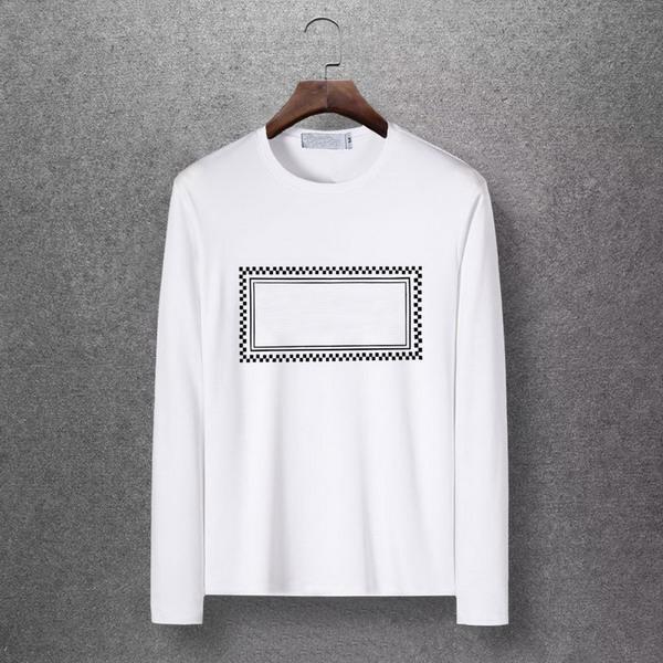 Prethoracic геометрический принт дизайнер бренда мужская модная рубашка с длинным рукавом M-6XL высококачественные молодежные рубашки осенние футболки EAR98309