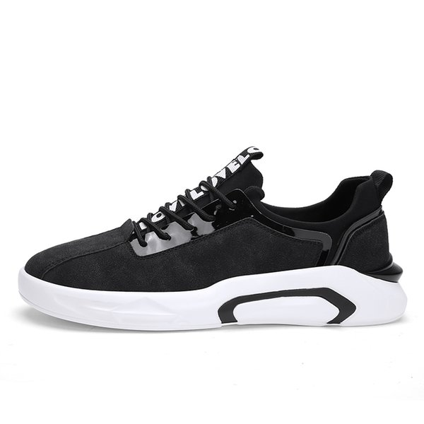 Fall 2019 men's fashion new style casual shoes Korean version casual wild web celebrity cotton shoes trend