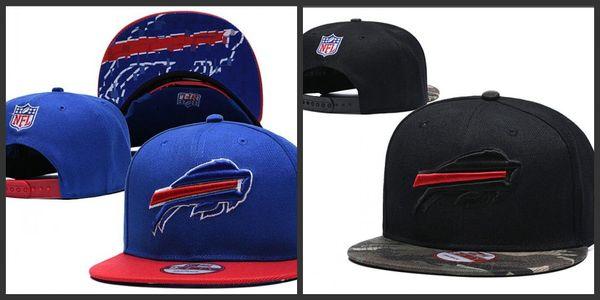 2019 New Arrival Buffalo Adjustable Hats Bills Embroidery Team Logo Snapback All Team Sports Caps