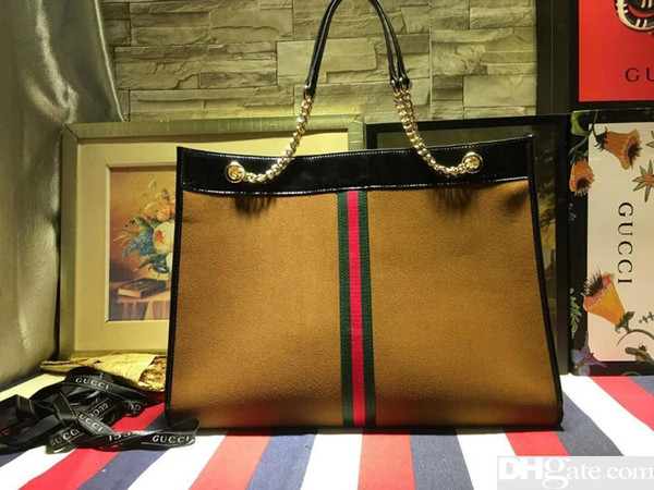 В 2019 году высокое качество, кожа, мода, Tophigh-end, мужская и женская G сумка, сумка, сумка, рюкзак, модель 537219, размер 46см34см6см