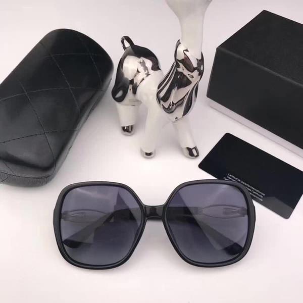 chanel CH1121 Gafas de sol de plástico baratas para mujer y hombre al por mayor gafas de sol de rectángulo reflectante con remache diseñador Clear Eyeglasses Frame para la venta