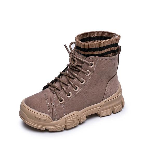 2019 Winter Kids Boots Big Kids Shoes Boys Shoes Girls Shoes Boys Boots  Girls Martin Boots Boys Martin Boot Children Shoe Retail A9367 Booties  Girls