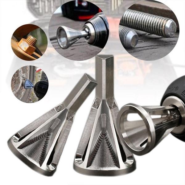 top popular Deburring External Chamfer Tool Metal Remove Burr Tools for Chuck Drill Bit Tool 2021