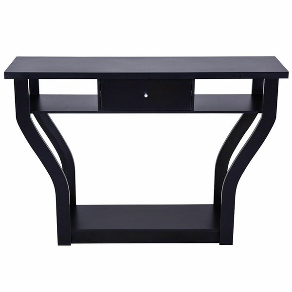 Incredible 2019 Accent Console Table Modern Sofa Entryway Hallway Hall Furniture W Drawer Black From Jiaozongxiao668 97 48 Dhgate Com Ibusinesslaw Wood Chair Design Ideas Ibusinesslaworg