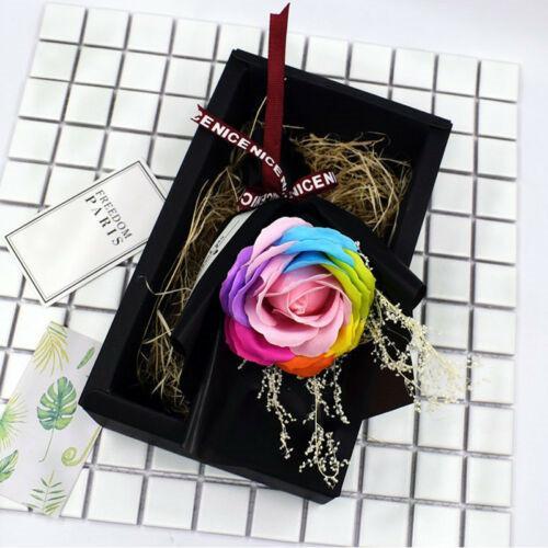 Künstliche Blumenstrauß duftende Seifen-Rosen-romantischer Geburtstags-Geschenkkasten-kreative Gastgeschenke