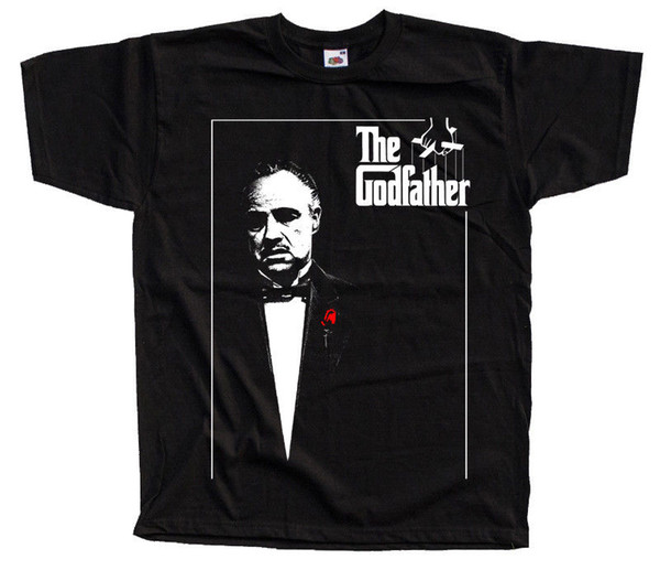 Godfather V1 Movie Poster T Shirt All Sizes S To 4xl Marlon Brando Al Pacino