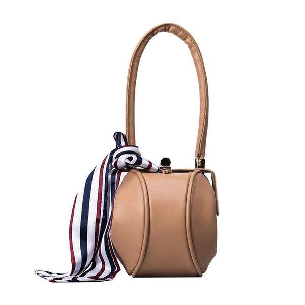 Designer Handbags Women Totes Contracted Silk Towel Brand Handbag Female Character New Lantern Pack Casual Bags Mobile Phone Bag