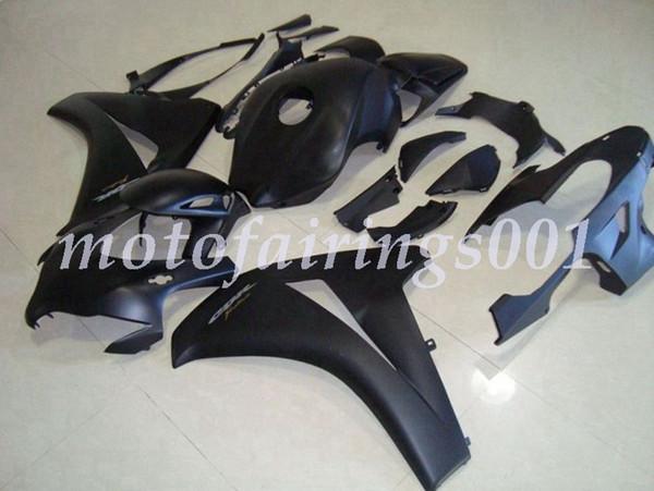 (Modelagem por injeção) Novos carenagens ABS motocicleta Kits Fit para HONDA CBR1000 CBR1000RR 2008 2009 2010 2011 08 09 10 11 Preto