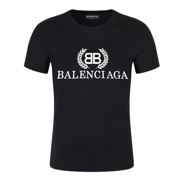 2019 neue bb marke herren designer t shirts mode frauen kleidung sommer farbdruck casual t shirt baumwollmischung rundhalsausschnitt kurzarm