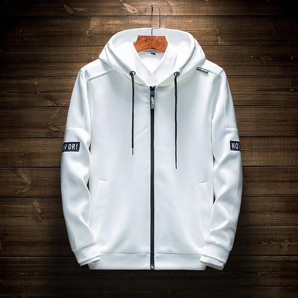 Fashion Mens Hoodies Autumn Men Sweatshirt Long Sleeve Designer Hoodie With Letter Print Casual Cardigan Mens Tops 4 Colors M-4XL