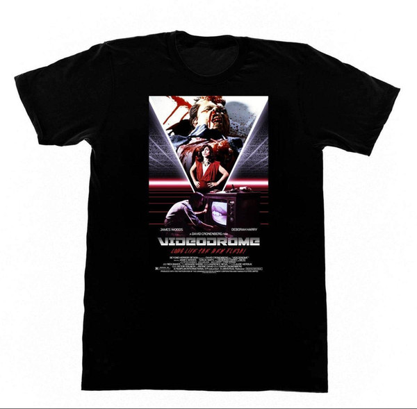 Videodrome T Shirt DEbbie Harry BDSM Bondage Erotica Cronenberg Imprimir Camiseta Hombre Verano 2018