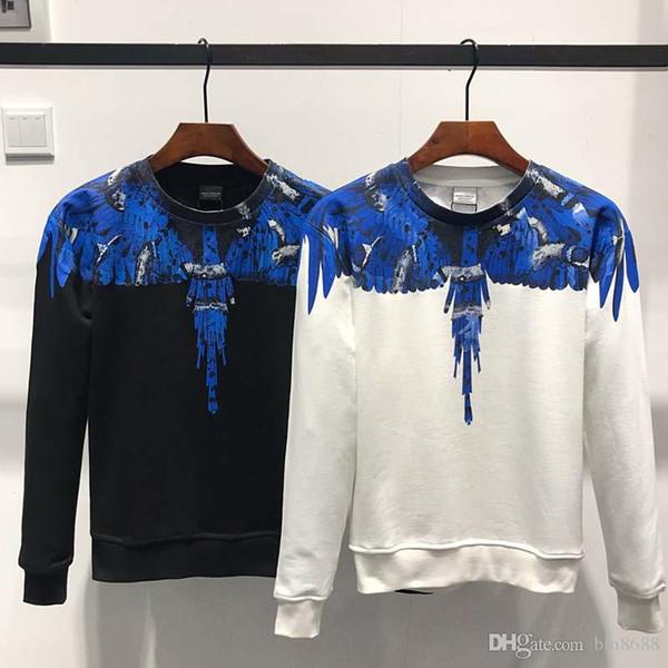 Caldo maglione European Brand testa della tigre felpe ricamate Parigi pollver felpe manica lunga spugna di cotone puro con le lettere originali 31