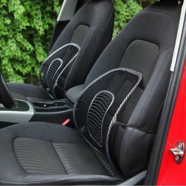 Amortiguador de la corrección de la postura de la espina dorsal de la ayuda de la parte posterior lumbar para la silla C de la oficina del asiento de carro