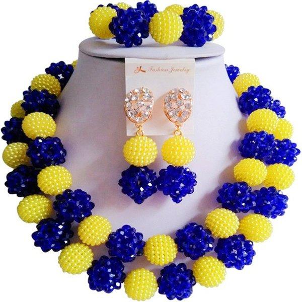 yellow royal blue