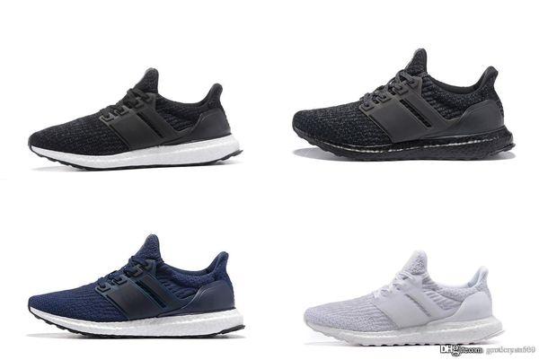 2019 новый Ultra boost 3.0 4.0 Мужская обувь Лучшее качество Ultraboost Серый Дизайнерская обувь Размер женщин 36-45