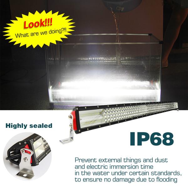 hotsale 52inch LED Light Bar 8D 924W LED Bar 4-Row-Arbeits-Licht-Punkt-Flut für Fahren Offroad Niva Traktor-LKW 4x4 ATV 12V 24V