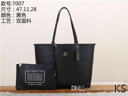 2020 stili di borsa in pelle di moda le donne delle borse Borse di Tela spalla della signora borse in pelle Borse borsa KS 7007-4 mcut001