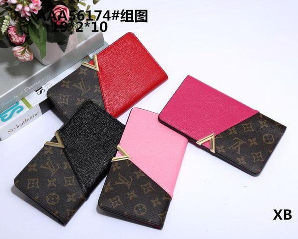 Heißer Fabrik Großhandel! Großhandel berühmte Marke Mode einzigen Reißverschluss billige Luxus Designer Frauen PU-Leder Brieftasche Dame Damen langen Geldbeutel